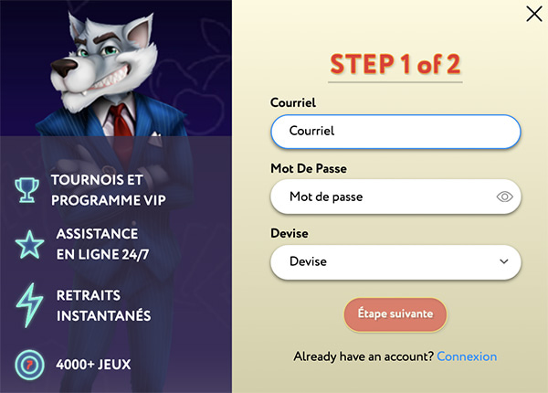 slotwolf signup